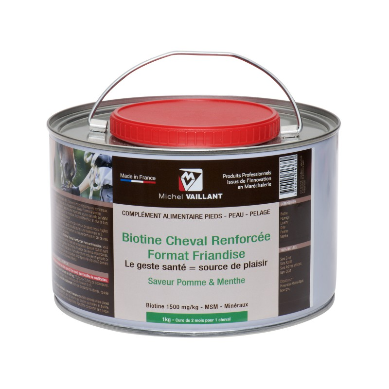 Biotine cheval - Friandise cheval- Complement cheval