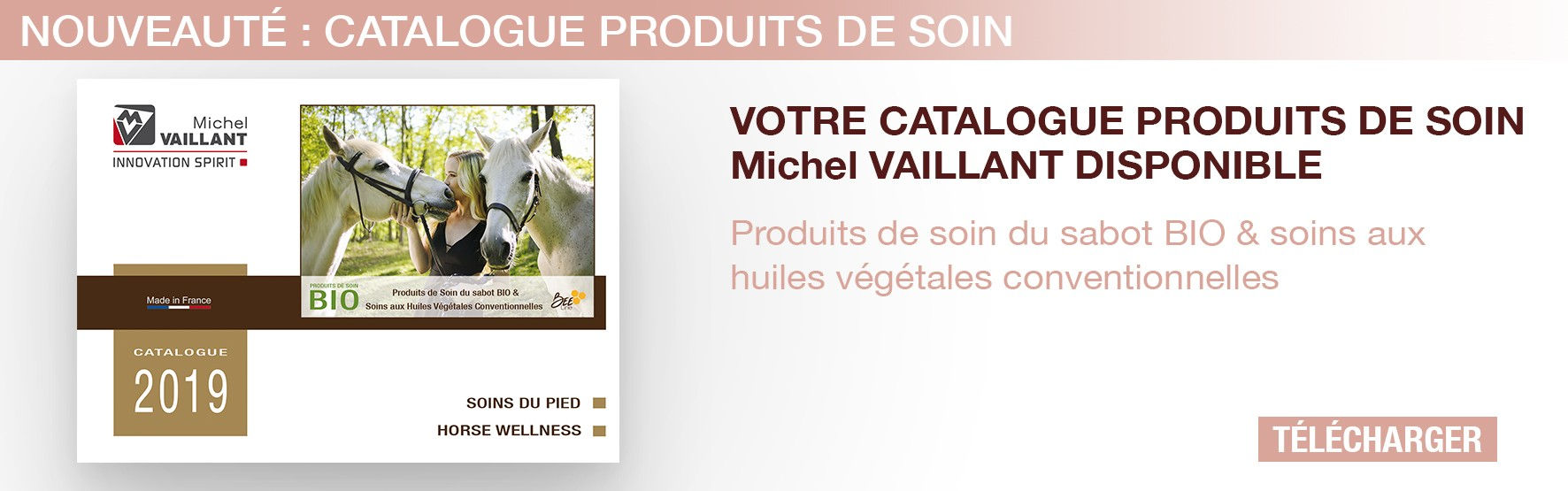 Michel Vaillant Equitation - Soins chevaux - Phytotherapie cheval - Bio cheval