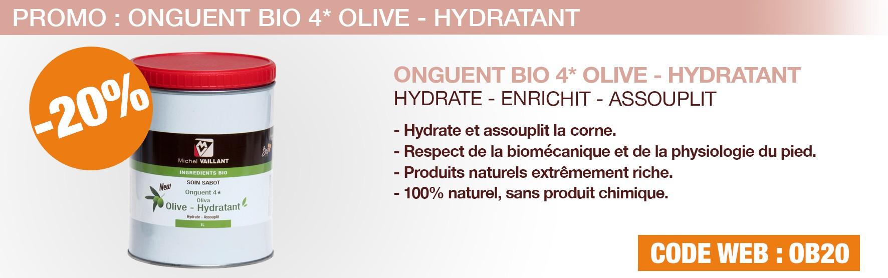 Onguent - soin - Olive - cheval - sabot - corne - hydrate - hydratant - assouplit - riche - naturel - bio